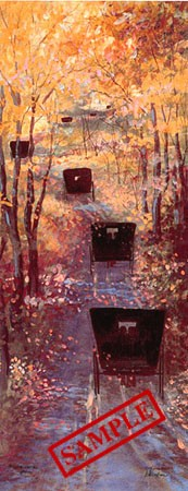 Painting by Diane Graebner entitled Autumn Outing