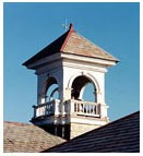 Bell Tower at Olney Friends School