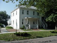 Birthplace of Clark Gable in Cadiz, Ohio