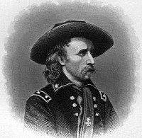 George Armstrong Custer, Born in Harrison County in 1839