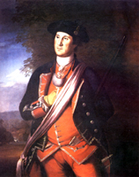 1772 painting of George Washington as a Virginia Colonel.