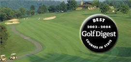 Golf Digest Recognition of Robert Trent Jones Course