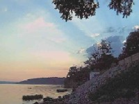 The Ohio River at Sunset -- Near Stratton House Inn
