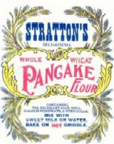 Label from Stratton's Self-Rising Whole Wheat Pancake Flour Sacks
